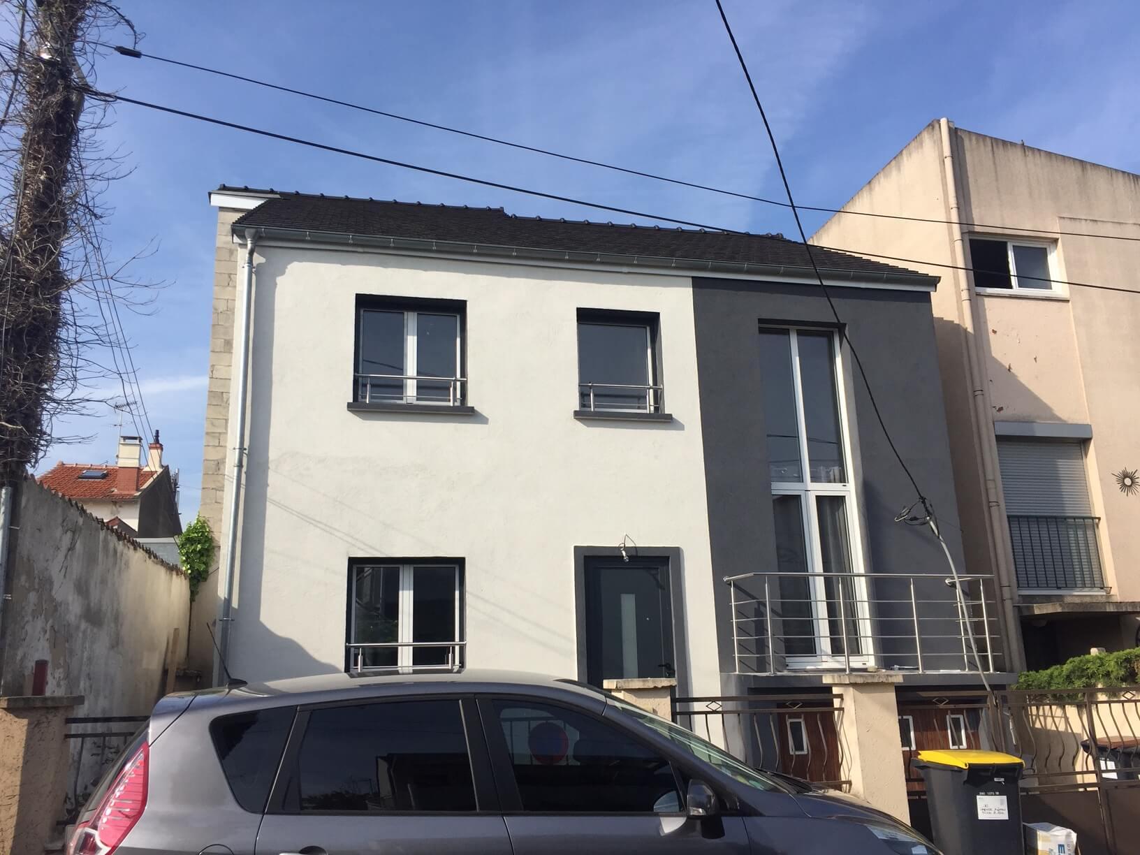 extension et renovation maison saint Maur des fossés 94
