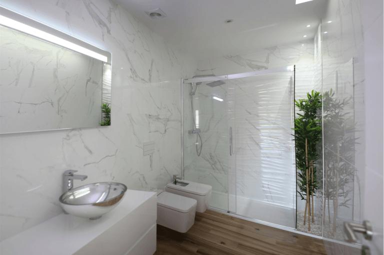 salle de bain moderne entreprise générale de batiment renovation 94