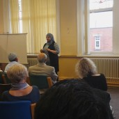 We were also joined by our local councillor Fazila Fadia, a self-confessed poet