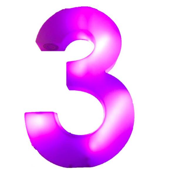 number 3 # 6