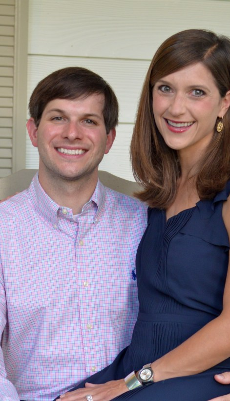 Steven works for AstraZeneca Pharmaceuticals, and Mauree is owner of Baby Boot Camp of Baton Rouge, a stroller fitness class for new moms.