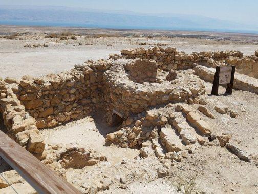 Dead Sea Scroll Location.