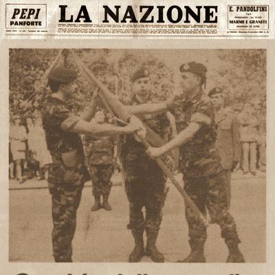 24 aprile 1995 Cambio della guardia