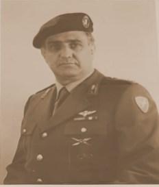 Ten. Col. Ugo De Matteis 31 dicembre 1975 - 01 agosto 1977