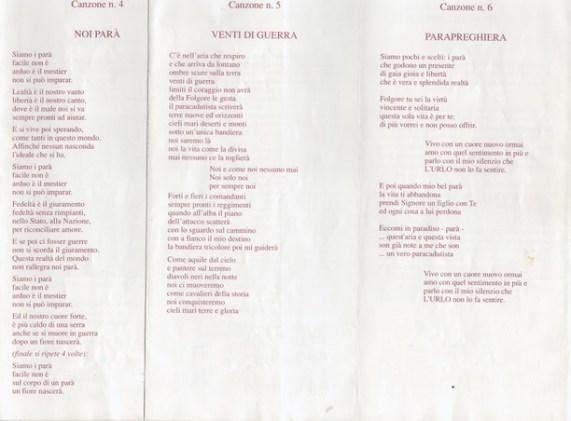 Festival delle canzoni dei Paracadutisti-2