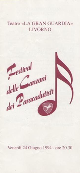 Festival delle canzoni dei Paracadutisti