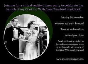Joan Crawford Virtual Dinner Party