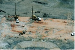 Aerial Picture of Drilling Project