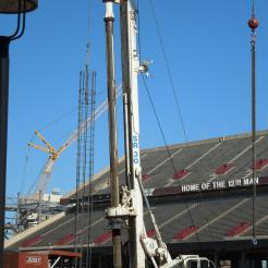 Drilling at Kyle Field: College Station, TX