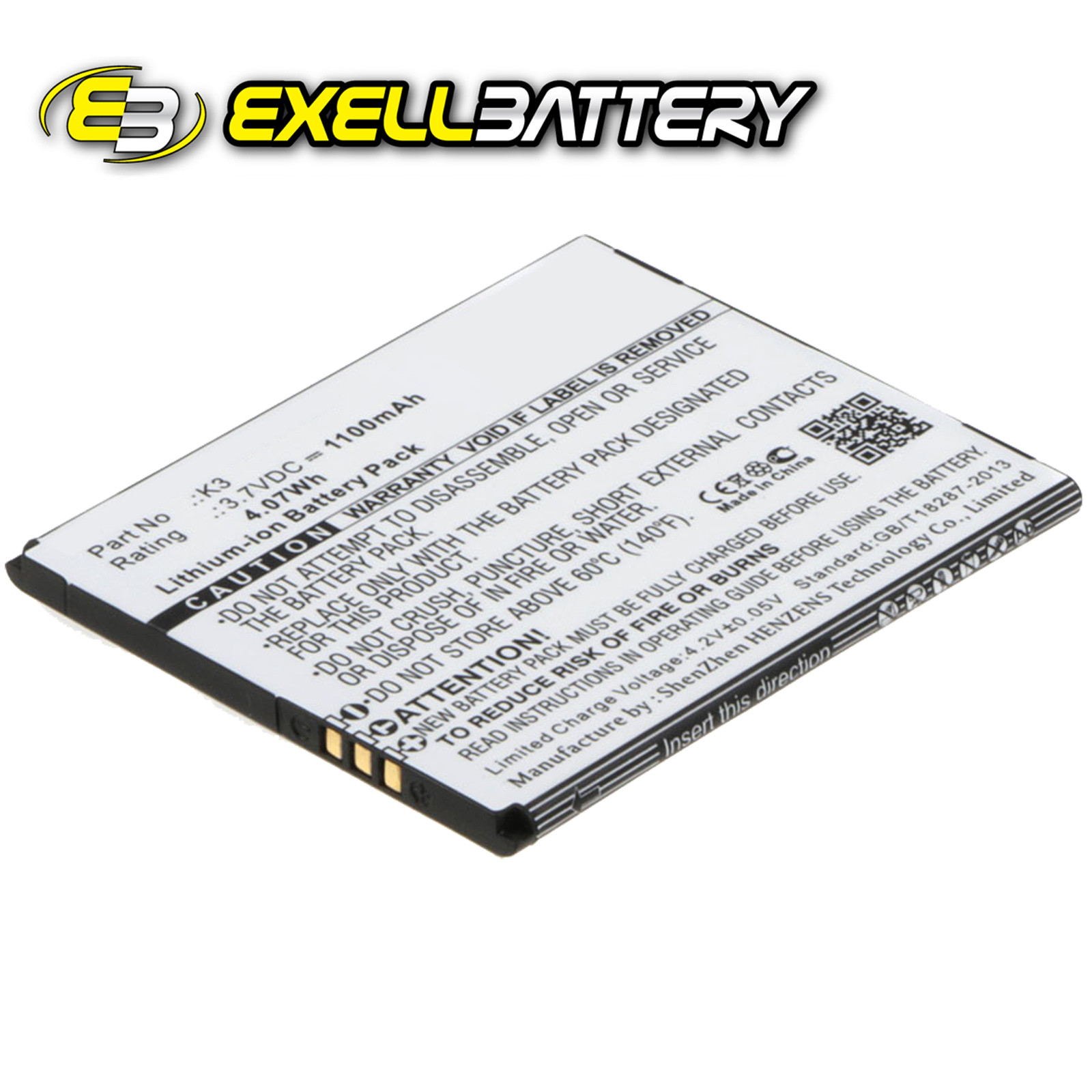 3 7v Mah Mobile Smartphone Battery Fits Navon Mizu