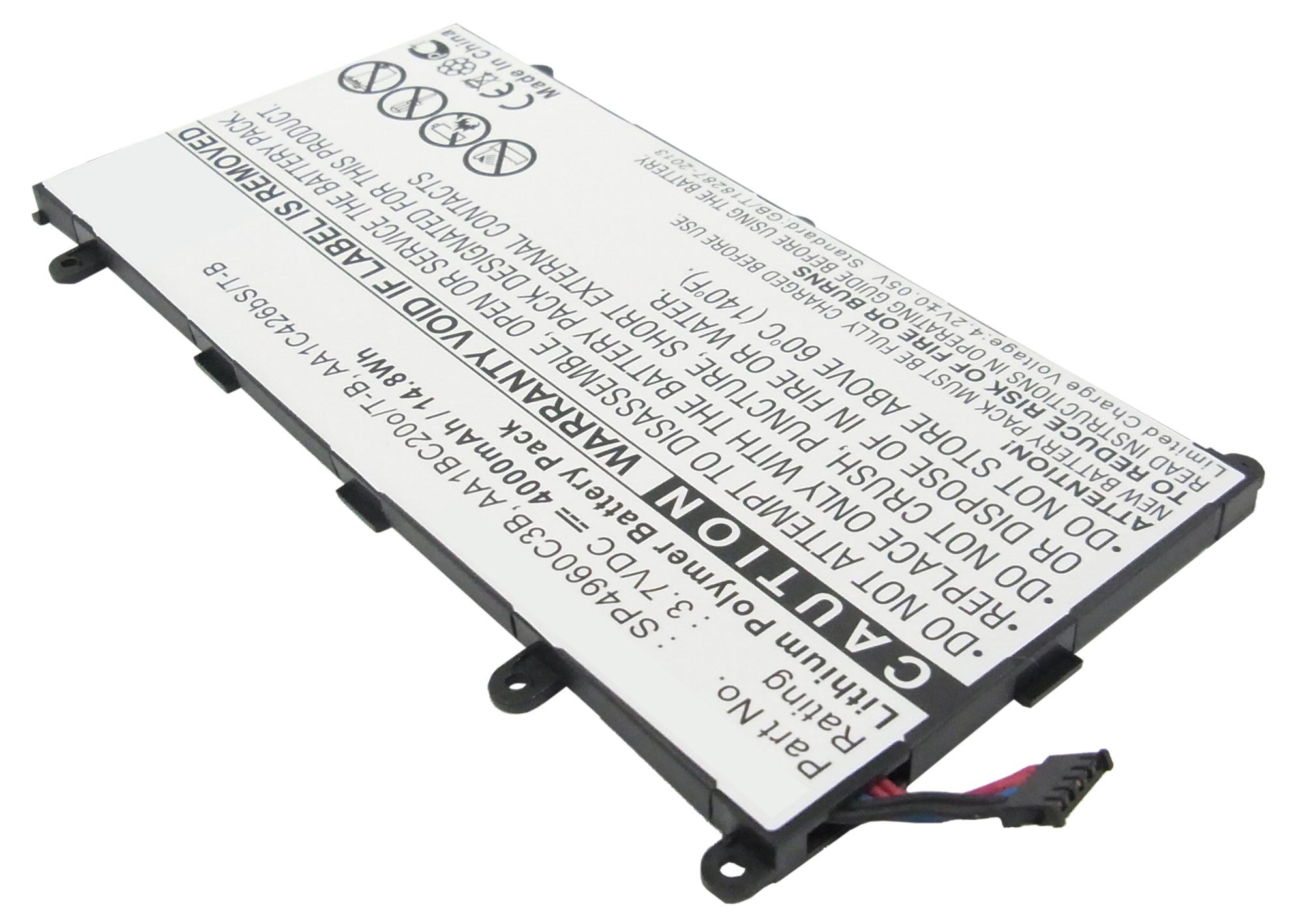 Li Polymer 3 7v Battery Fits Samsung P Gt P Gt