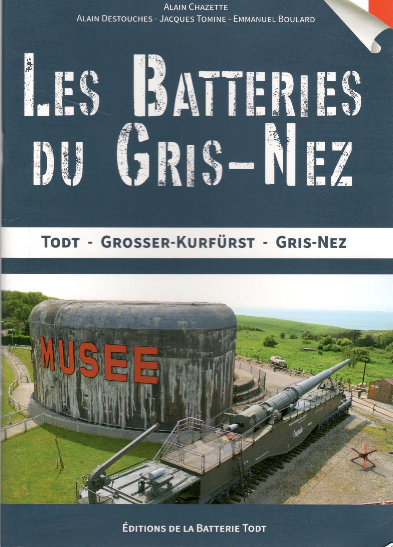 Les batterie du secteur du Gris Nez