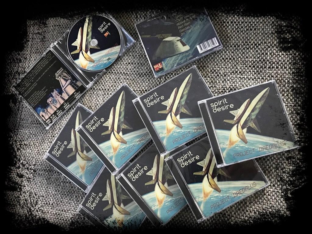 Project Daedalus ist gelandet – Promo CDs jetzt verfügbar!