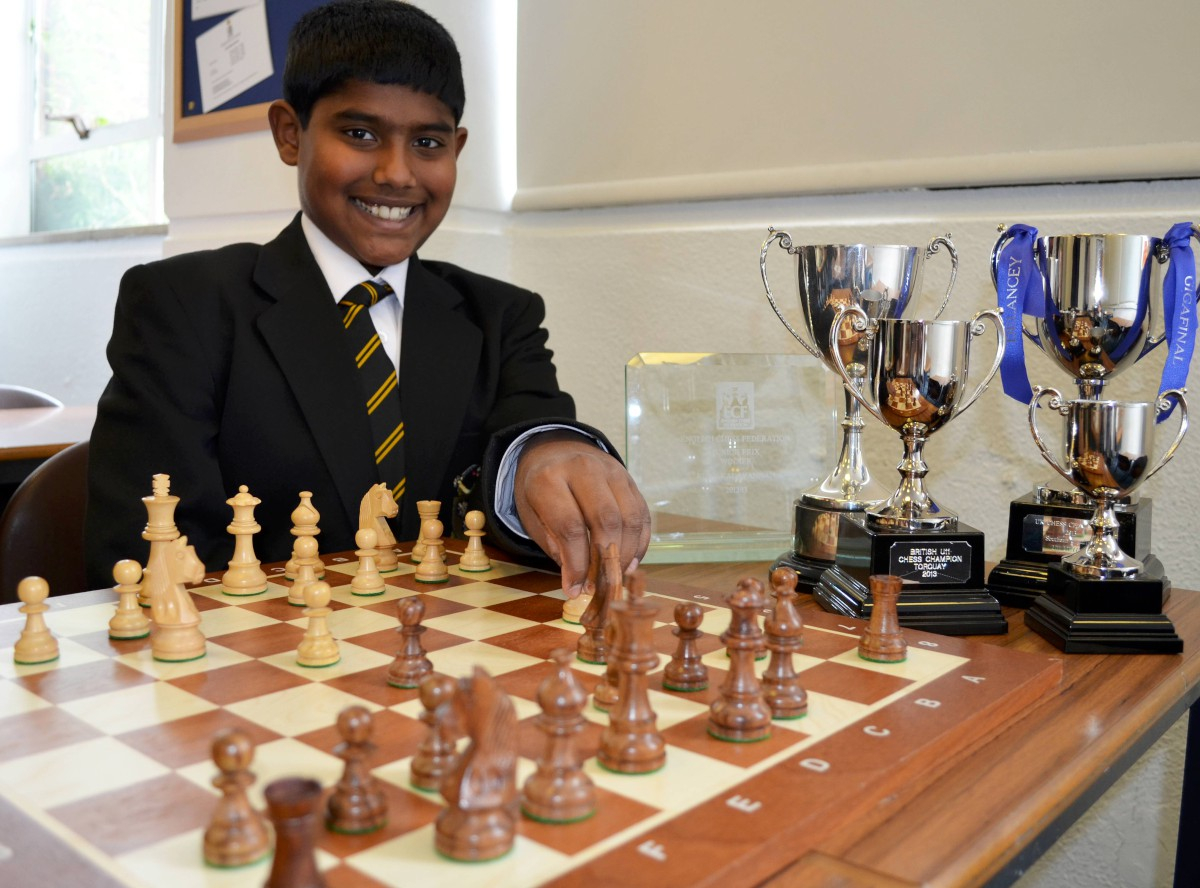 Koby triumphs in British Under-14 Championship