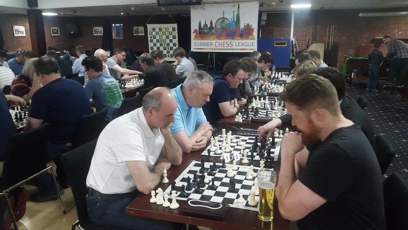 GM Simon Williams at Battersea Chess Club