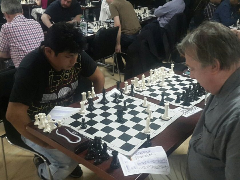 Summer Chess League action