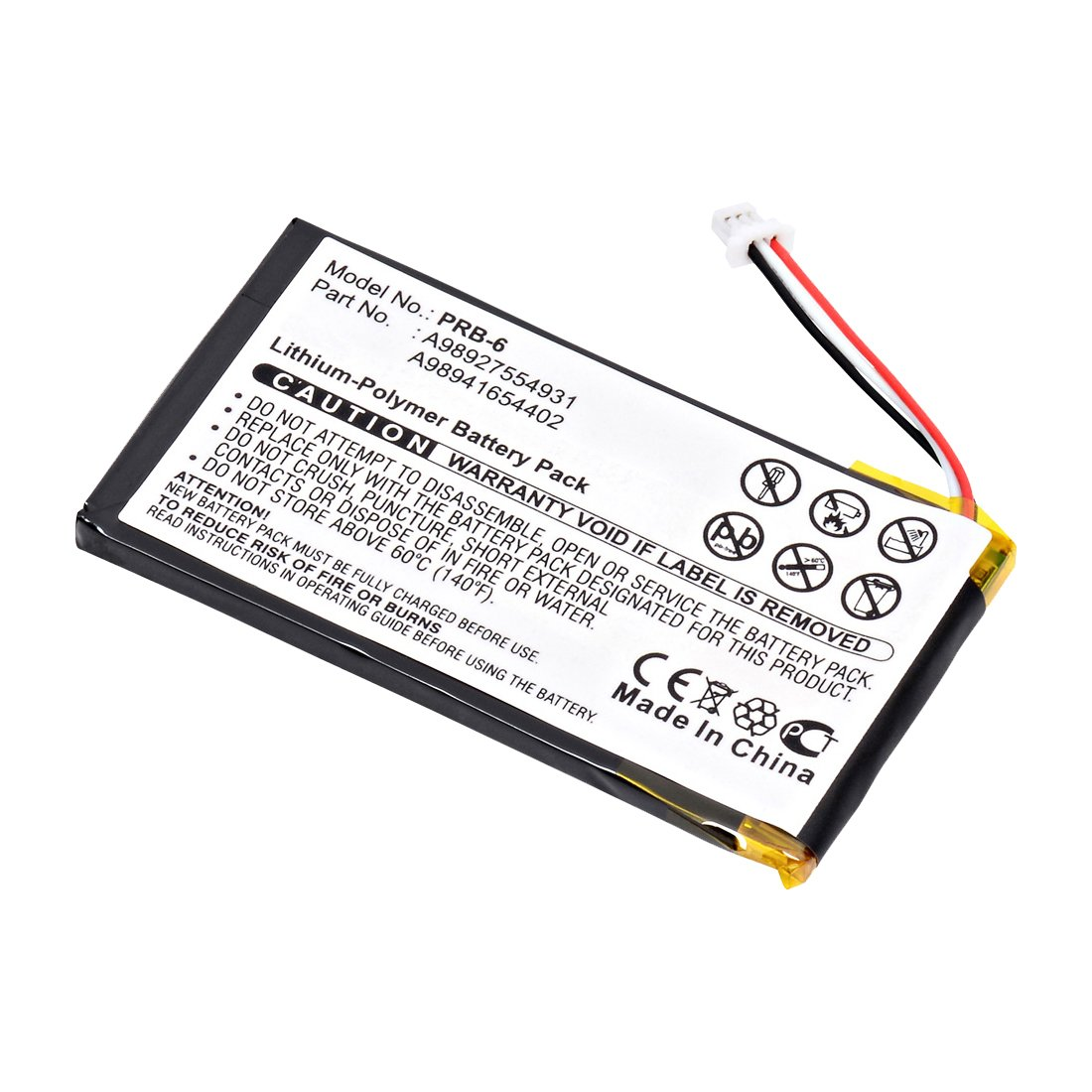 Replacement Sony Prs 600 Battery