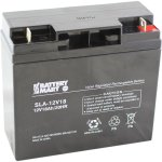 12 Volt 18 Ah Sealed Lead Acid Rechargeable Battery With Nut Bolt Terminals Battery Mart