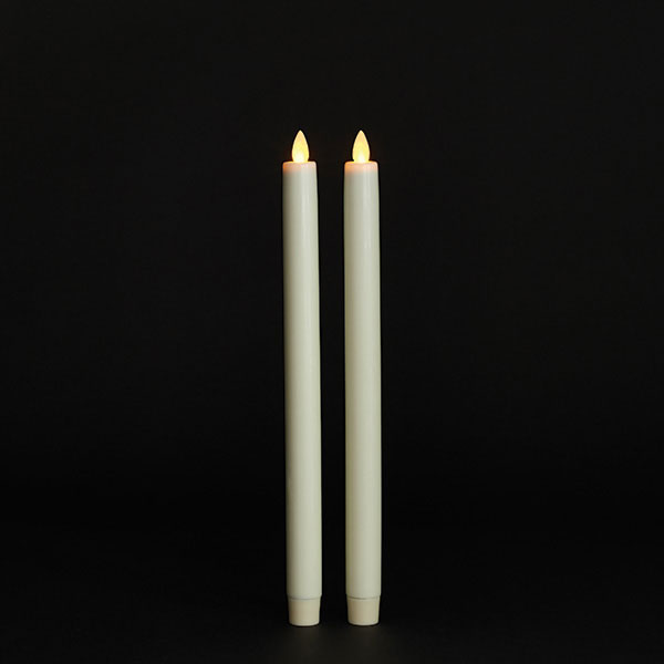 Timer Battery Operated Flickering Candle
