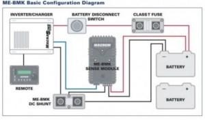 Magnum Energy Battery Monitor Kit MEBMK  Battery Pete