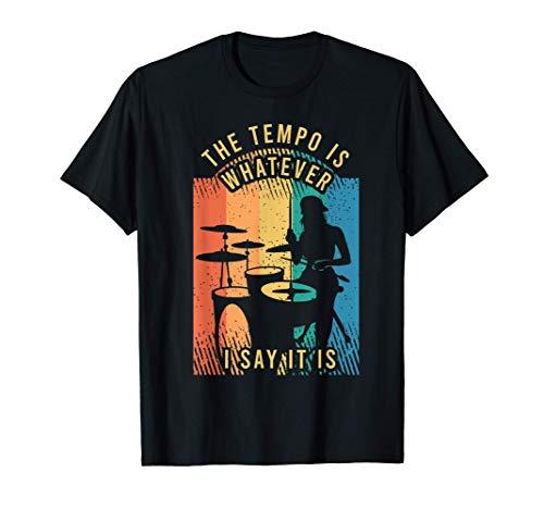 Tenue de batteur pour un batteur T-Shirt
