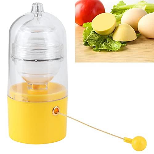 Eulbevoli Gadget de Cuisine, Fouet à œufs à Cordon Haute densité en Silicone pour œufs de différentes Formes et Tailles pour détendre Les Muscles de la Main