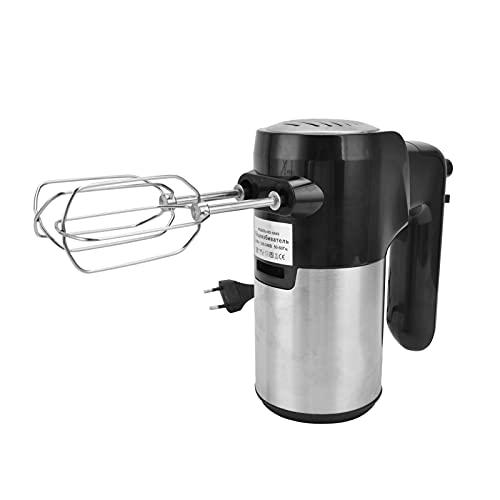 Fouet à oeufs électrique, léger et durable avec design détachable Batteur à oeufs électrique portable à 5 vitesses Puissant pour les vinaigrettes, les mousses, les mélanges de crème