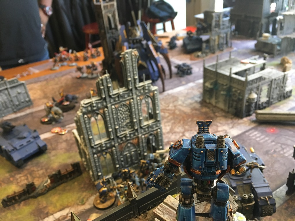 Thousand Sons vs Space Wolves & Imperial Fists - Battle Report