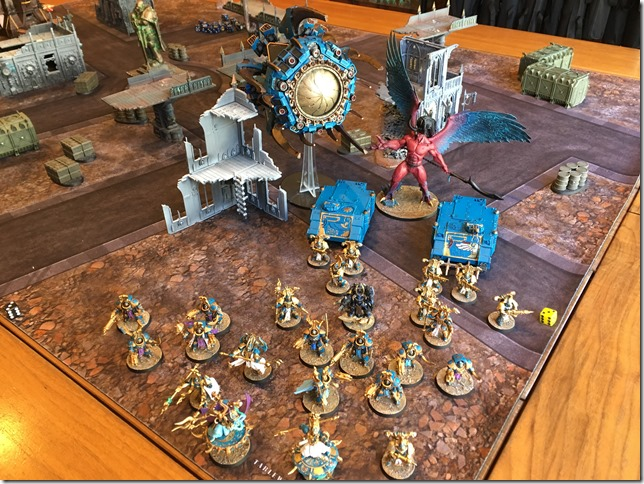 Thousand Sons vs Chaos