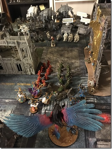 Thousand Sons vs White Scars and Baronial Court