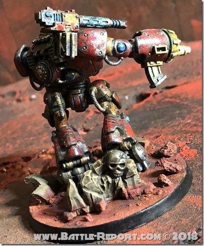 Adeptus Mechanicus Kastelan Robot  01