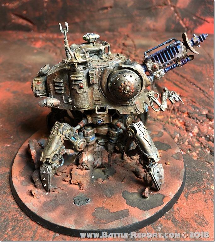 Adeptus Mechanicus Onager Dunecrawler  01