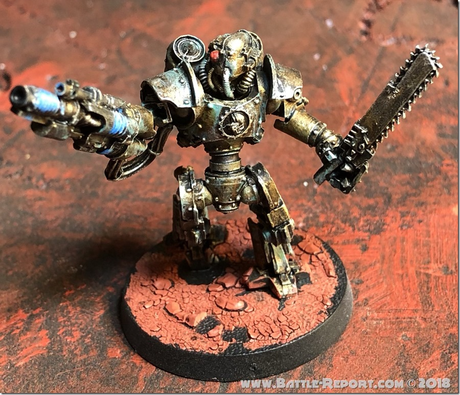 Mechanicum Thallax by Nyghoma