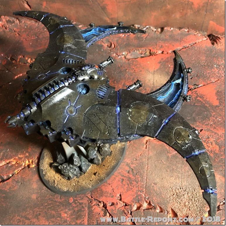 Necron Doom Scythe by Nyghoma (1)
