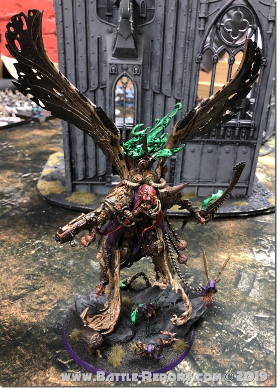 Mortarion by Aaron B