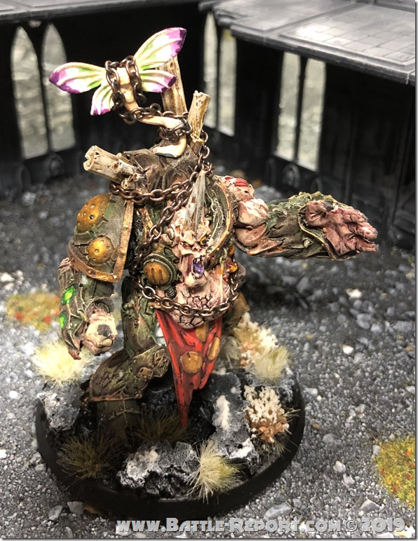 Daemon Prince of Nurgle by Stephen H