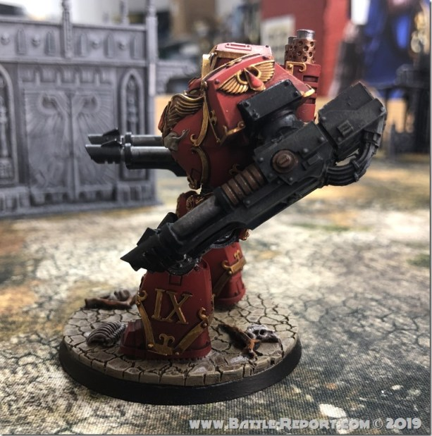 Blood Angels ContemptorDreadnought (3)