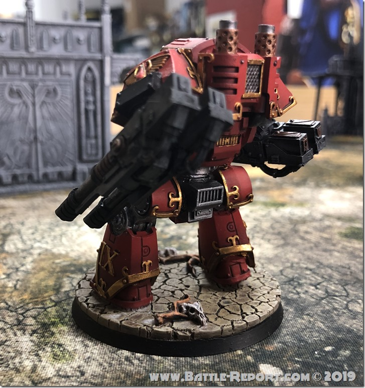 Blood Angels ContemptorDreadnought (4)