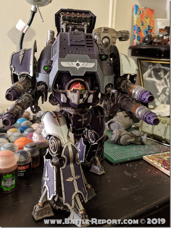 Legion Xestobiax Acastus Knight Porphyrion by Christopher Tobin