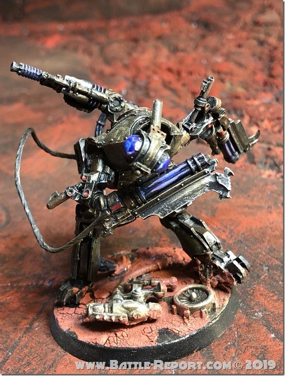 Mechanicum Vorax Battle-Automata by Nyghoma