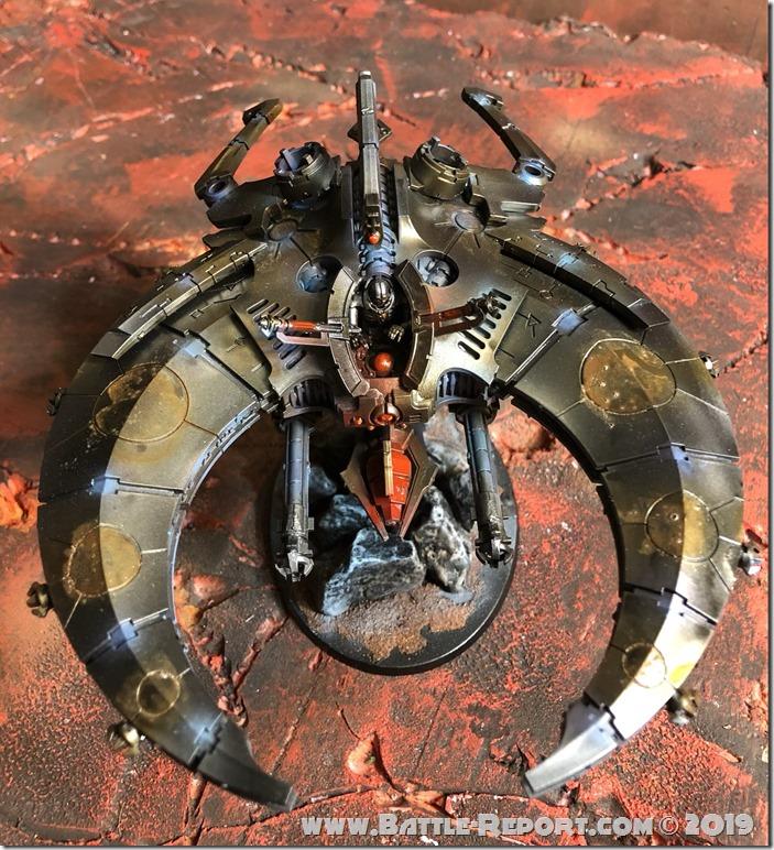 Necron Doom Scythe by Nyghoma