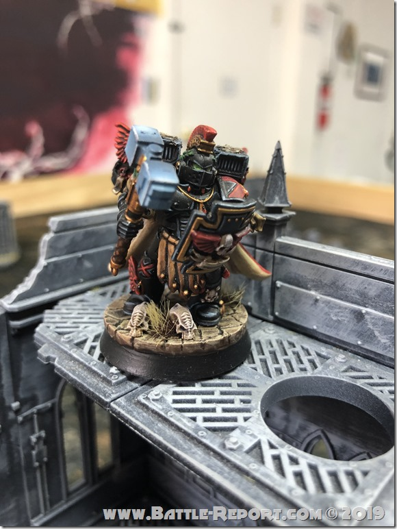 Blood Angels Captain with Jump Pack (2)