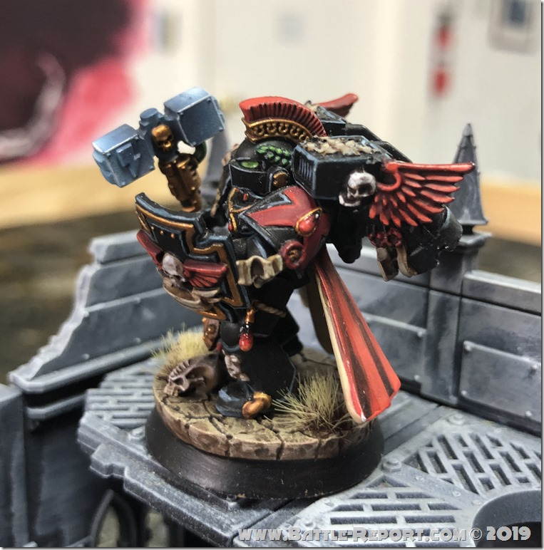 Blood Angels Captain with Jump Pack by Andrew Zoitas