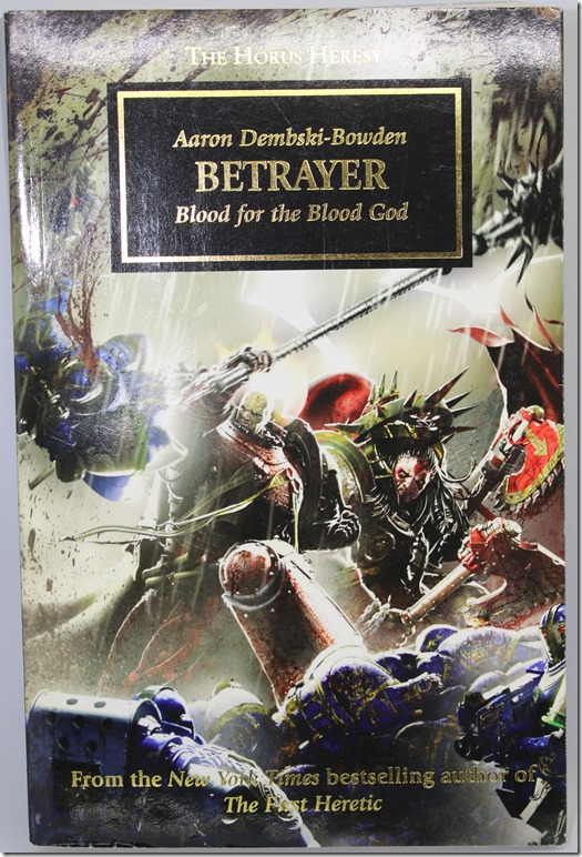 Betrayer: Blood for the Blood God – Aaron Dembski-Bowden