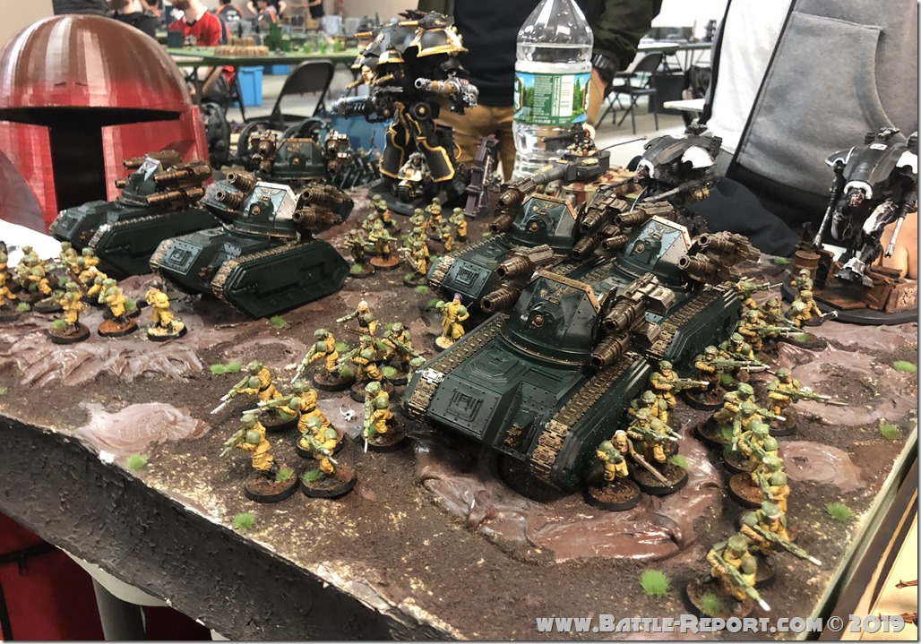 Armies of the 2019 BFS North East Team Championship – Part 14