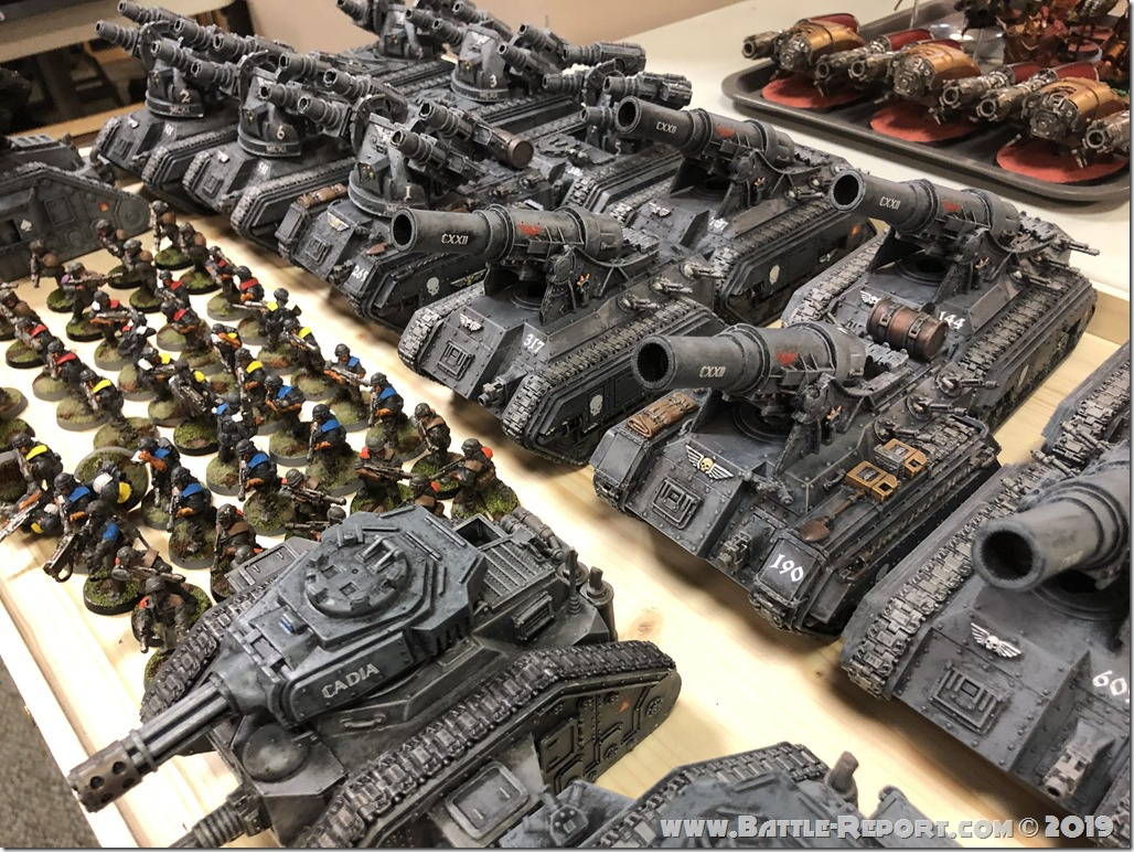 Armies of the 2019 BFS North East Team Championship – Part 11