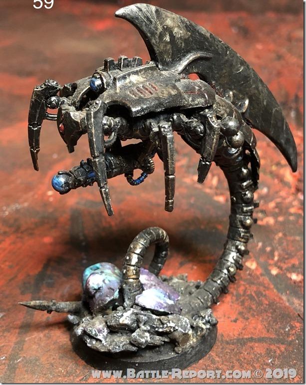Necron Canoptek Wraith (3)