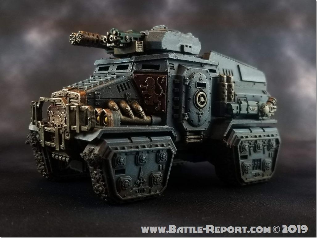 Militarum Tempestus Taurox Prime by Joey K (2)