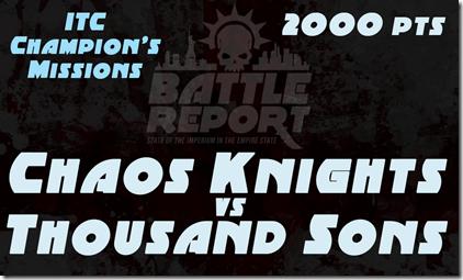 2x Chaos Thunderous Battle Warhammer