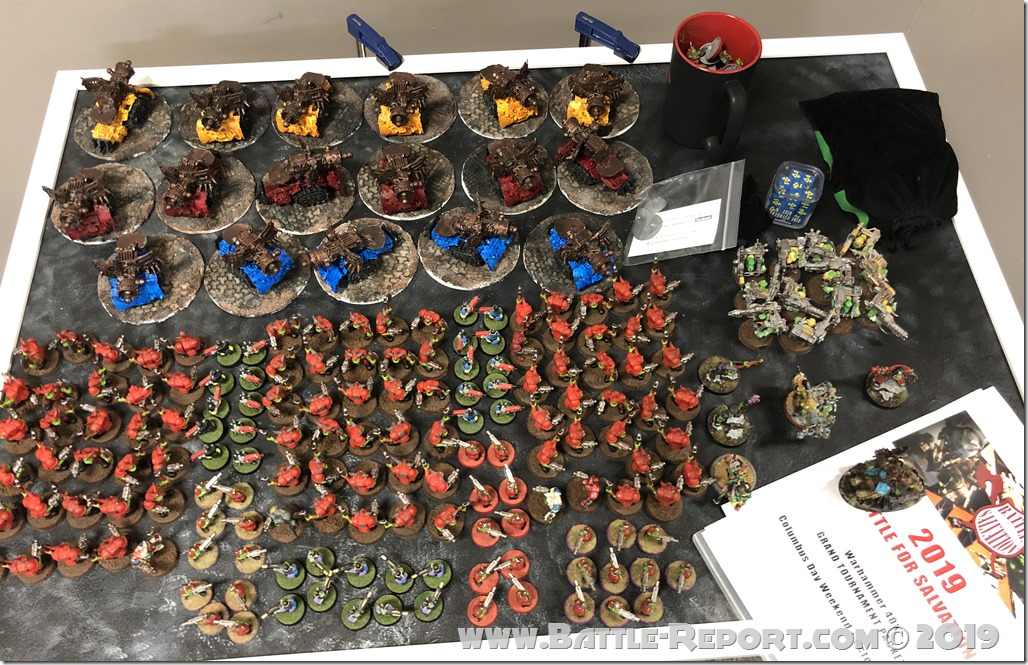 Armies of the 2019 BFS X GT – Orks by George Hanson